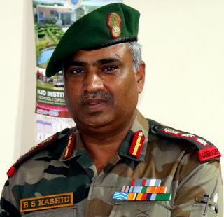 Col. B. S. Kashid